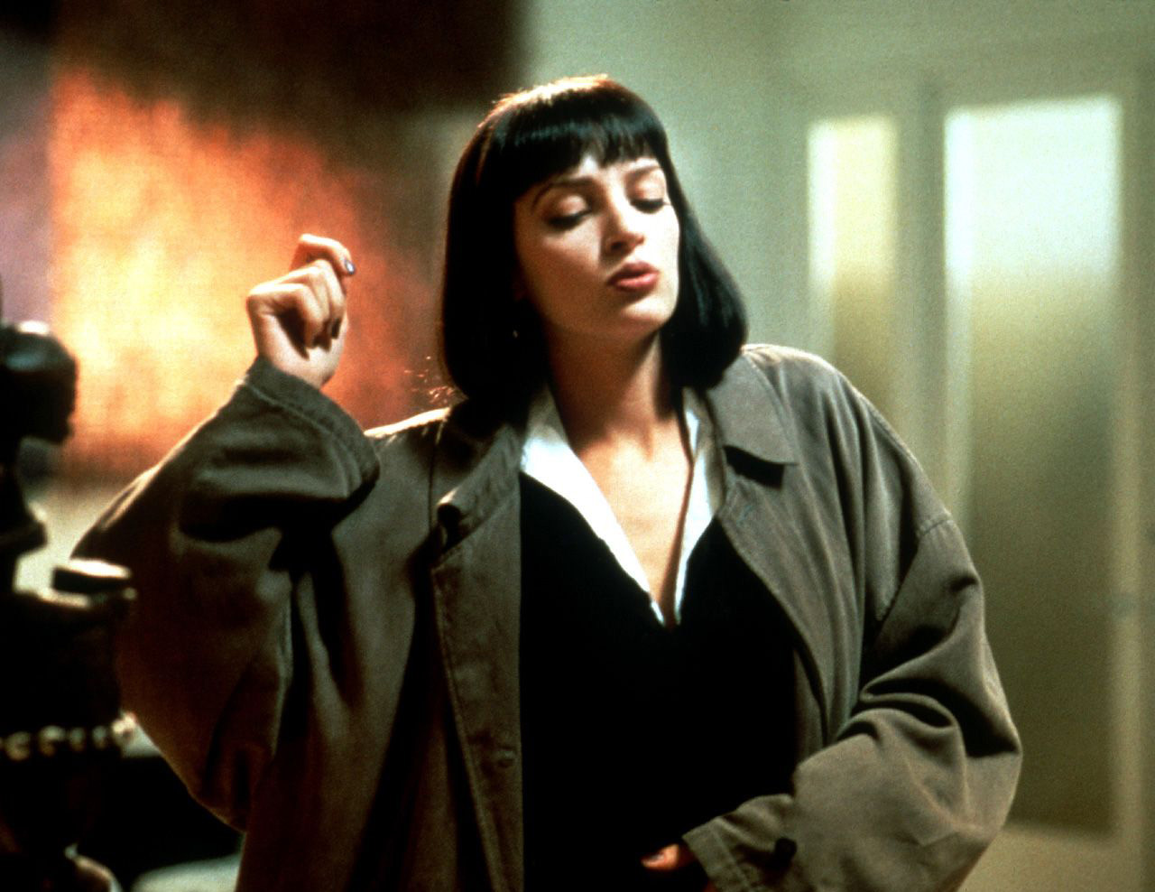 Uma Thurman Pulp Fiction Quentin Tarantino - Pu...