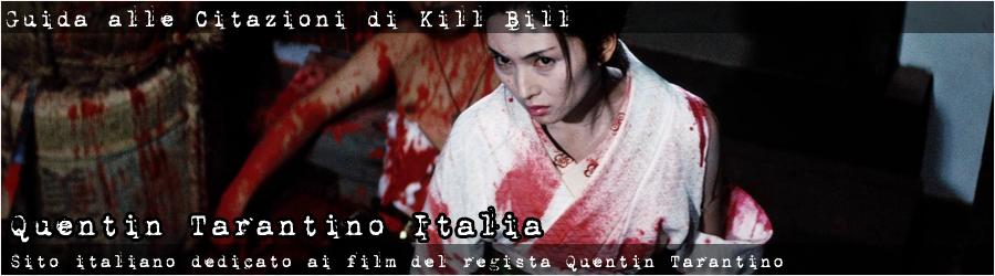 Quentin Tarantino Kill Bill Movie References